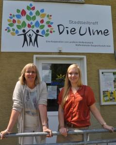 """arbara Gabriel und Susanne Pensler freuen sich auf Besuch in der """"Ulme""""."""