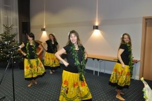 Die Hula-Gruppe aus Gielde
