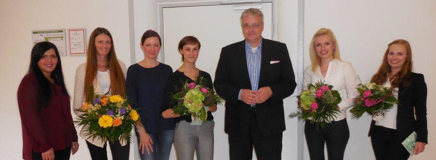 WoBau gratuliert ihren Absolventen