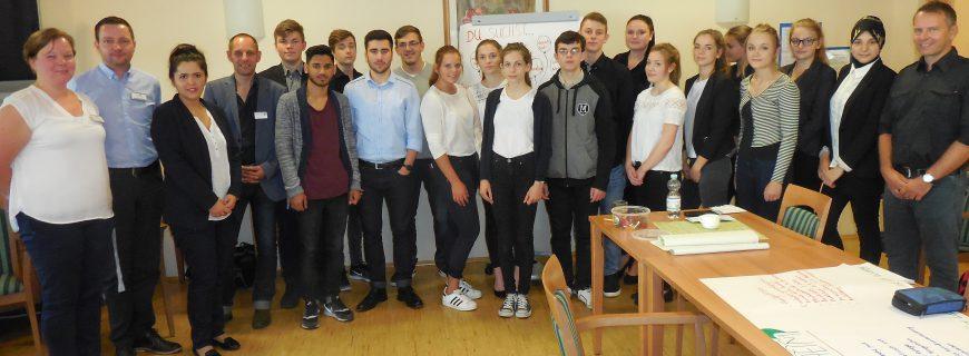 Leibniz-Realschüler arbeiten mit der WoBau an ihrem Selfmarketing