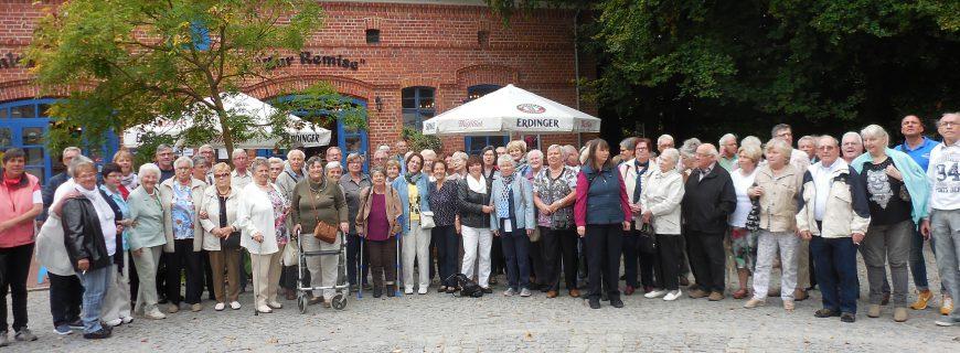 WoBau-Senioren fuhren nach Brandenburg
