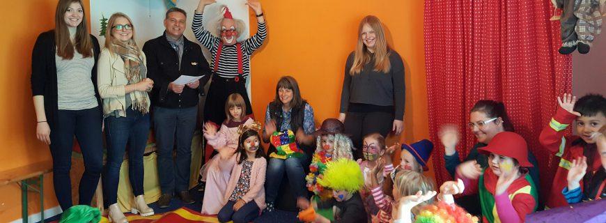 WoBau fördert die Clownswohnung