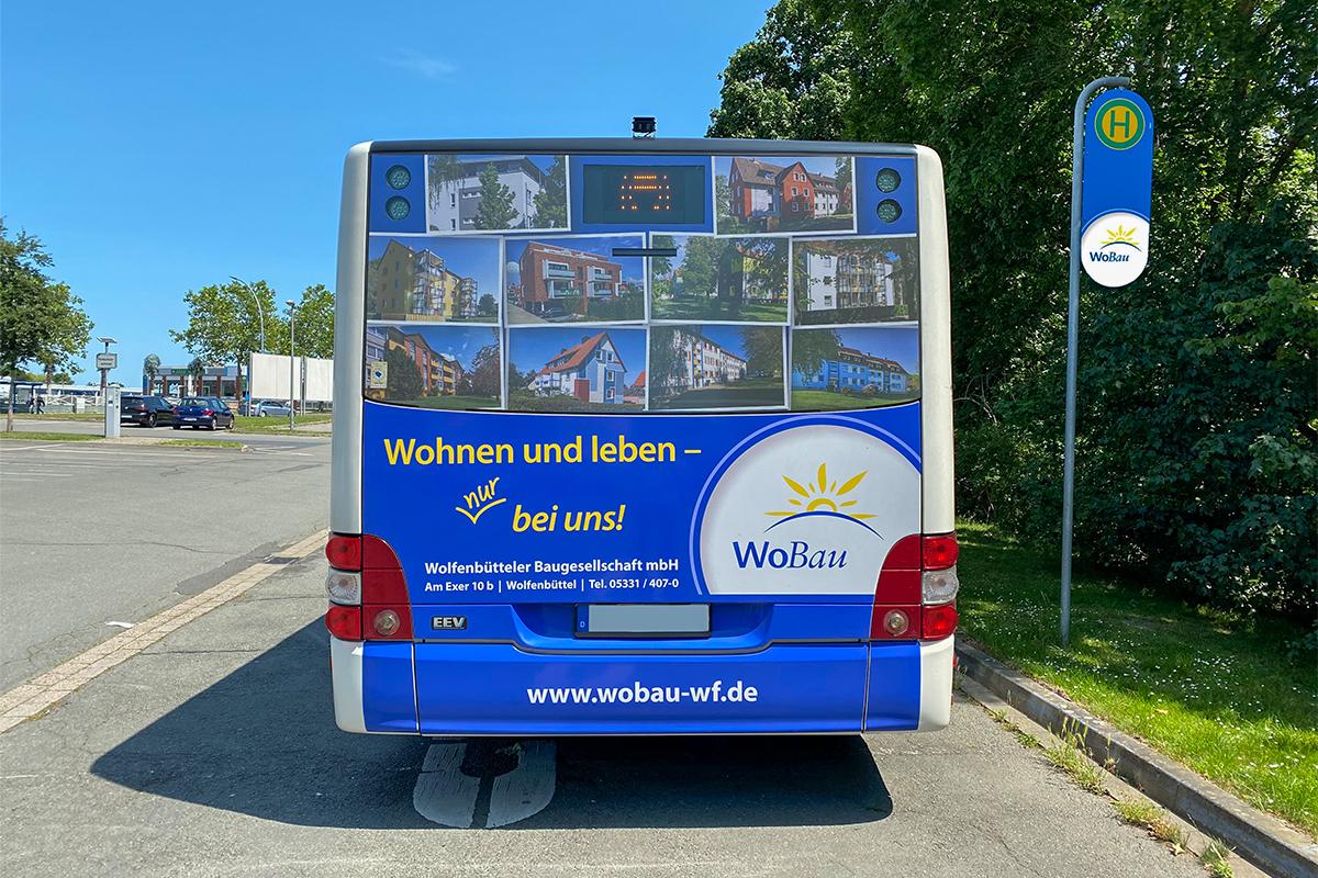 WoBau Buswerbung 2020