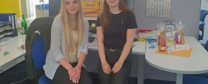 Clarissa Horn und Clara Wetzel