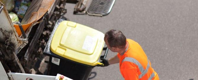 Müllabfuhr Wertstofftonnen
