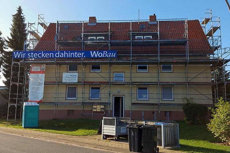 Sanierung Pfarrhofstrasse Hornburg