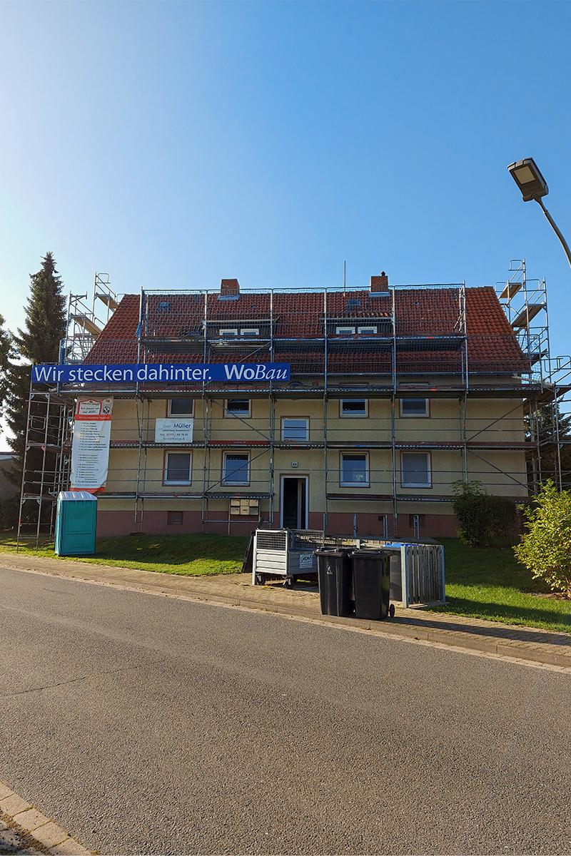 Sanierung Pfarrhofstraße Hornburg