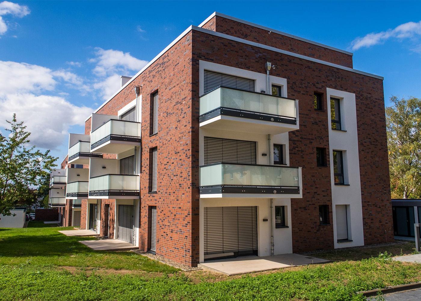 Neubau Birkenweg Hausansicht