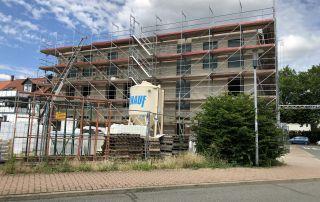 Bautagebuch Grüner Platz KW28