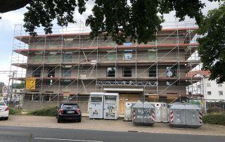Bautagebuch Grüner Platz KW32