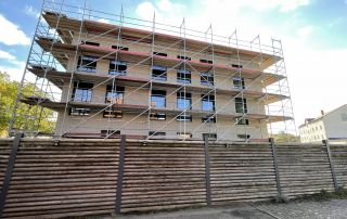 Bautagebuch Grüner Platz KW43